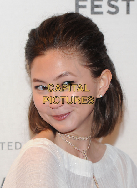 NEW YORK, NY - April 21: Kimiko Glenn attends the premiere of 'The Handmaid's Tale' during Tribeca Film Festival at BMCC Tribeca PAC on April 21, 2017 in New York City.<br /> CAP/MPI/JP<br /> ©JP/MPI/Capital Pictures