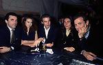 FERDINANDO BRACHETTI PERETTI  CON YVONNE SCIO', AIMONE D'AOSTA , ALESSANDRA BORGHESE E  URBANO BARBERINI<br /> COMPLEANNO MAFALDA D'AOSTA      ALIEN CLUB  ROMA 1993