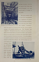 BNPS.co.uk (01202 558833)<br /> Pic: HAldridge/BNPS<br /> <br /> A rare promotional brochure for the Titanic which boasts of how the doomed liner was 'unsinkable' went for £2,800.<br /> <br /> A walking cane with a lightbulb on one end of it that a Titanic survivor waved in a desperate attempt to attract a rescue ship has sold for £105,000.<br /> <br /> Ella White held the wooden stick aloft in the clear night sky as she stood on the deck of the stricken liner to try and signal any passing ships. But her actions blinded crew members while they set about loading passengers into lifeboats.<br /> <br /> Second officer Charles Lightoller was so annoyed by Mrs White and her cane that he ordered it to be confiscated and thrown overboard.<br /> <br /> It was the marquee lot in a sale of Titanic artefacts held by auctioneers Henry Aldridge and Son of Devizes, Wilts.<br /> <br /> Also in the sale, the personal archive of tragic William Harrison who was valet to Bruce Ismay, the managing director of Titanic's owners White Star Line, fetched £44,000.