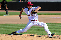Wisconsin Timber Rattlers relief pitcher Brady Schanuel (30) delivers a pitch during a game against the West Michigan Whitecaps on May 22, 2021 at Neuroscience Group Field at Fox Cities Stadium in Grand Chute, Wisconsin.  (Brad Krause/Four Seam Images)