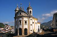 Igreja do Rosario em Ouro Preto. Minas Gerais. 2011. Foto de Euler Paixao.