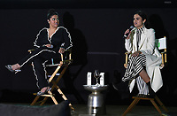 """BEVERLY HILLS, CA - MAY 26: Co-lead actresses Kuhoo Verma and Victoria Moroles attend a special event for the Hulu original film """"Plan B"""" at L'Ermitage Beverly Hills on May 26, 2021 in Beverly Hills, California. (Photo by Frank Micelotta/HULU/PictureGroup)"""