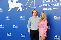 U.S. actors Charlie Plummer, left, and Chloe Sevigny attend a photo call for the movie 'Lean On Pete' at the 74th Venice Film Festival, Venice Lido, September 1, 2017. <br /> UPDATE IMAGES PRESS/Marilla Sicilia<br /> <br /> *** ONLY FRANCE AND GERMANY SALES ***