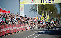 victory for world champion Michal Kwiatkowski (POL/Ettix-Quickstep)<br /> <br /> 50th Amstel Gold Race 2015