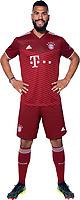 29th August 2021; Munich, Germany; FC Bayern Munich official team portraits for season 2021-22:  Eric Maxim Choupo-Moting