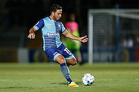 Sam Wood of Wycombe Wanderers during the The Checkatrade Trophy match between Wycombe Wanderers and West Ham United U21 at Adams Park, High Wycombe, England on 4 October 2016. Photo by David Horn.