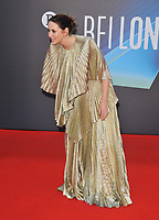 """Caitriona Balfe at the 65th BFI London Film Festival """"Belfast"""" American Airlines gala, Royal Festival Hall, Belvedere Road, on Tuesday 12th October 2021, in London, England, UK. <br /> CAP/CAN<br /> ©CAN/Capital Pictures"""