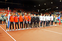 22-9-06,Leiden, Daviscup Netherlands-Tsjech Republic, Openings Ceremony
