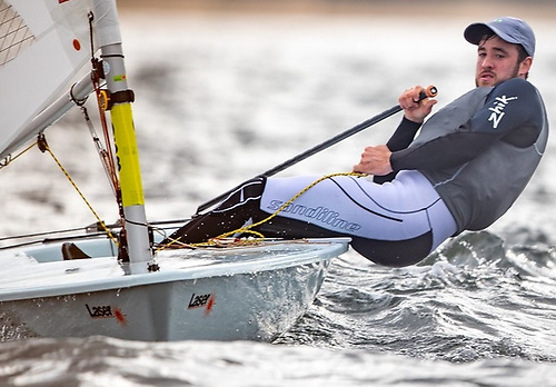 The National Yacht Club's Finn Lynch was Ireland's youngest Olympic helmsman when he competed at the Rio Games in 2016 at the age of 20 and, along with four other Irish sailors, is seeking a second Olympics at the final qualifier in Vilamoura