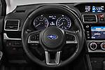 Car pictures of steering wheel view of a 2017 Subaru XV Premium 5 Door SUV
