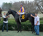 Jon Court rode Archarcharch to victory in the 46th Southwest Stakes at Oaklawn Park in Hot Springs, Arkansas.