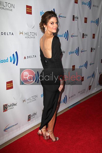 Maria Menounos<br /> at the 25th Annual GLAAD Media Awards, Beverly Hilton, Beverly Hills, CA 04-12-14<br /> David Edwards/DailyCeleb.Com 818-249-4998