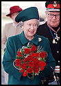 27th Oct 97  Ref : 970388     Copyright Pic : James Stewart.THE QUEEN ARRIVES AT THE OPENING CEREMONY OF THE  CHUNGWA FACTORYIN HOLYTOWN........Payments to : James Stewart Photo Agency, Stewart House, Stewart Road, Falkirk. FK2 7AS      Vat Reg No. 607 6932 25.Office : 01324 630007        Mobile : 0421 416997