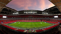England - Wednesday  November 14, 2018: The USMNT trains at  Wembley Stadium in preparation before an international friendly against England.