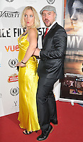 """Kat Gellin & Nathanael Wiseman attend the """"My Hero"""" Raindance Film Festival UK film premiere, Vue Piccadilly cinema, Lower Regent Street, London, England, UK, on Friday 25 September 2015. <br /> CAP/CAN<br /> ©Can Nguyen/Capital Pictures"""