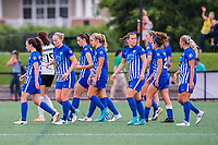 Boston, MA - Saturday July 01, 2017: Boston Breakers during a regular season National Women's Soccer League (NWSL) match between the Boston Breakers and the Washington Spirit at Jordan Field.