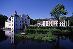 Europe, DEU, Germany, North Rhine Westphalia, Rhine-Ruhr Area, Ruhr District , Essen ( Borbeck ), Moated castle, Schloss Borbeck....[ For each utilisation of my images my General Terms and Conditions are mandatory. Usage only against use message and proof. Download of my General Terms and Conditions under http://www.image-box.com or ask for sending. A clearance before usage is necessary...Material is subject to royalties. Each utilisation of my images is subject to a fee in accordance to the present valid MFM-List...Contact | archive@image-box.com | www.image-box.com ]