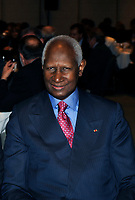 Montreal (Qc) CANADA -March 25 2009 -<br /> <br /> Abdou Diouf , Secretary-General of La Francophonie  gives a speech in Montreal.<br /> <br /> Abdou Diouf (Wolof: Abdu Juuf) (born September 7, 1935[1]) was the second President of Senegal, serving from 1981 to 2000. Diouf is notable both for coming to power by peaceful succession, and leaving willingly after losing the 2000 presidential election to Abdoulaye Wade. He has been the Secretary-General of La Francophonie since 2003.