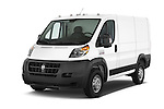 2015 Ram Promater 1500 118 Wb  4 Door Cargo Van angular front stock photos of front three quarter view