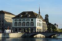 Helmhaus und Wasserkirche, Zürich, Schweiz