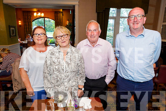 Celebrating the 4th of July Independance Day celebrations in the Rose Hotel on Saturday.<br /> L to r: Fionnuala Barrett, Catherine and John Commane and Dick Barrett.