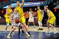 11-05-2021: Basketbal: Donar Groningen v Den Helder Suns: Groningen,  Donar speler Henry Caruso me Den Helder speler Dyon Halman