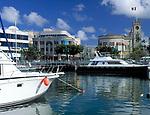 BRB, Barbados, Bridgetown: Marina und House of Assembly | BRB, Barbados, Bridgetown: Marina and House of Assembly
