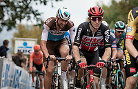 Jasper de Buyst (BEL/Lotto-Soudal)<br /> <br /> 104th Ronde van Vlaanderen 2020 (1.UWT)<br /> 1 day race from Antwerpen to Oudenaarde (BEL/243km) <br /> <br /> ©kramon