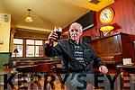 Mike Lynch, Causeway enjoying a pint in Bettys Bar.