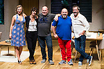 "Pilar Castro, Maribel Verdu, the director Daniel Veronese, Jorge Calvo and Jorge Bosch during theater play of ""Invencible"" at Teatros del Canal in Madrid. October 27, Spain. 2016. (ALTERPHOTOS/BorjaB.Hojas)"