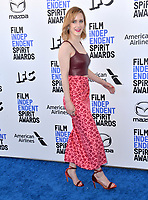 SANTA MONICA, CA: 08, 2020: Rachel Brosnahan at the 2020 Film Independent Spirit Awards.<br /> Picture: Paul Smith/Featureflash