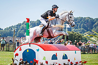 NZL-Clarke Johnstone rides Balmoral Sensation during the DHL-Preis CICO3* Eventing Cross Country. 2018 GER-Weltfest des Pferdesports CHIO Aachen. Saturday 21 July. Copyright Photo: Libby Law Photography