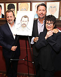 Rob Ashford with his husband and Chita Rivera during the Rob Ashford portrait unveiling for the Sardi's Wall of Fame on October 10, 2018 at Sardi's Restaurant in New York City.