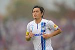 Yasuhito Endo (Gamba), NOVEMBER 10, 2013 - Football / Soccer : 2013 J.League Division 2 match between Kyoto Sanga F.C 0-2 Gamba Osaka at Nishikyogoku Stadium in Kyoto, Japan. (Photo by AFLO)