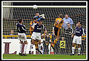 24/8/02         Copyright Pic : James Stewart                     .File Name : stewart-alloa v falkirk 22.ALLOA'S BROWN FERGUSON (8) OPENS THE SCORING....James Stewart Photo Agency, 19 Carronlea Drive, Falkirk. FK2 8DN      Vat Reg No. 607 6932 25.Office : +44 (0)1324 570906     .Mobile : + 44 (0)7721 416997.Fax     :  +44 (0)1324 570906.E-mail : jim@jspa.co.uk.If you require further information then contact Jim Stewart on any of the numbers above.........