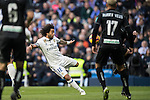 Marcelo Vieira Da Silva of Real Madrid in action during their La Liga match between Real Madrid and Granada CF at the Santiago Bernabeu Stadium on 07 January 2017 in Madrid, Spain. Photo by Diego Gonzalez Souto / Power Sport Images