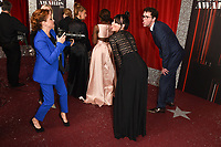 Nicola Wheeler, Lucy Pargater and Mark Chinnock<br /> arriving for The British Soap Awards 2019 at the Lowry Theatre, Manchester<br /> <br /> ©Ash Knotek  D3505  01/06/2019