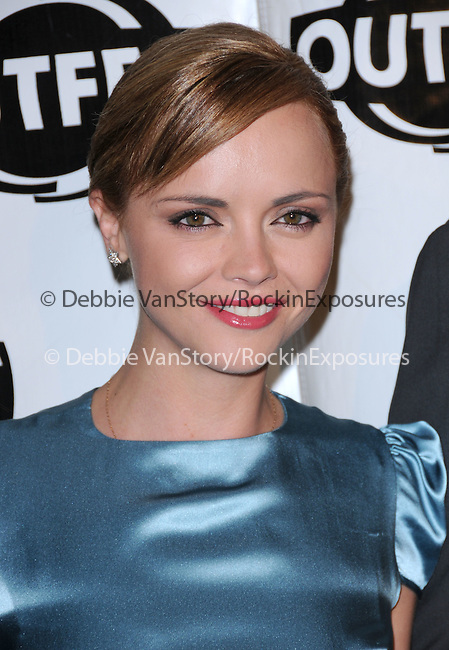 Christina Ricci at The 2009 Outfest Opening Night Gala of LA MISSION held at The Orpheum Theatre in Los Angeles, California on July 09,2009                                                                   Copyright 2009 Debbie VanStory / RockinExposures