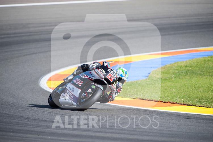 VALENCIA, SPAIN - NOVEMBER 11: Johann Zarco during Valencia MotoGP 2016 at Ricardo Tormo Circuit on November 11, 2016 in Valencia, Spain