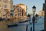 Grand Canal, Venice Italy 2009.