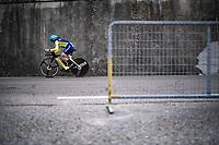 Olga Shekel (UKR)<br /> <br /> Women Elite Time trial from Imola to Imola (31.7km)<br /> <br /> 87th UCI Road World Championships 2020 - ITT (WC)<br /> <br /> ©kramon