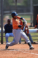 Houston Astros Alfredo Gonzalez (59) during a minor league spring training game against the Atlanta Braves on March 29, 2015 at the Osceola County Stadium Complex in Kissimmee, Florida.  (Mike Janes/Four Seam Images)