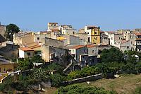 alte Häuser in Sassari,  Provinz Sassari, Nord - Sardinien, Italien