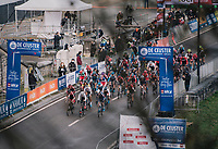 Women's Race Start<br /> <br /> UCI Cyclocross World Cup Namur 2020 (BEL)<br /> <br /> ©kramon