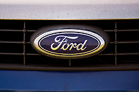 Thursday 02 March 2017<br /> Pictured: Ford badge on a car <br /> Re: Ford expects to cut more than 1,100 jobs from its Bridgend plant by 2021, casting doubt on the future of the Welsh engine facility.