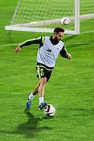 Spanish National Team's  training at Ciudad del Futbol stadium in Las Rozas, Madrid, Spain. In the pic: Carvajal. March 25, 2015. (ALTERPHOTOS/Luis Fernandez) /NORTEphoto.com