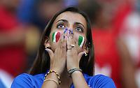 Watching Lady Italy Fan