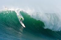 Evan Slater.   Mavericks Surf Contest 2008.  Half Moon Bay, Ca.  January 12, 2008.