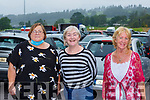 Pan Kelly, Patricia Fitzgerald AND Tricia O'Grady Killarney at St Pauls BC drive in bingo  in Killarney on Sunday evening