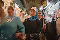 Asie/Israël/Judée/Jérusalem:Marchand de Soutien-Gorge , Voie Dolorosa,